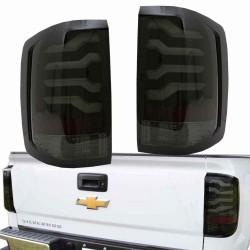 Chevrolet Silverado 2014 - 2018 LED Tube Rückleuchten 14 18 tail lights 2015 CBR