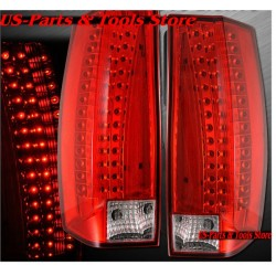 Chevrolet Tahoe Suburban GMC Yukon 07 - 14 Rückleuchten LED red 6 2007 2011 2014