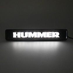 Hummer H3 H2 LED Buchstaben Schriftzug Logo universal Emblem